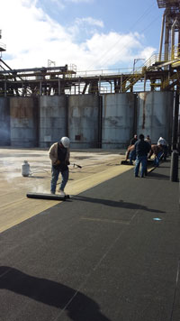 Providing Industrial Roofing in the Little Rock Area.
