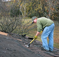 Providing Residential Roofing in the Little Rock Area.